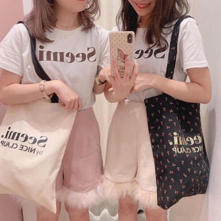 one after another NICE CLAUP - 【Seemi. by NICE CLAUP】ロゴbag サブbag エコbag