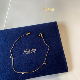 アーカー(AHKAH)のアーカービンドゥ3Princeダイヤブレスレット(ブレスレット/バングル)