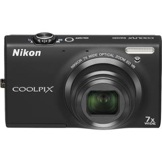 NikonデジタルカメラCOOLPIX ノーブルブラック S6100BK