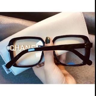 CHANEL - CHANEL 黒ぶちメガネ 伊達メガネ