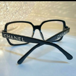 CHANEL - CHANEL 黒ぶちメガネ 伊達眼鏡