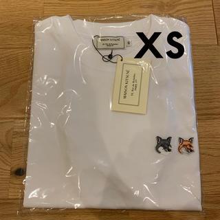MAISON KITSUNE' - メゾンキツネ  ダブルフォックス  半袖Tシャツ  XS  新品未使用