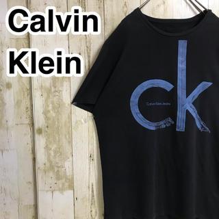 Calvin Klein - カルバンクラインジーンズ 半袖Tシャツ ブラック ビッグロゴ