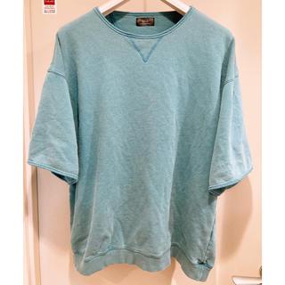 ザラ(ZARA)のZARA オーバーサイズ Tシャツ グリーン(Tシャツ/カットソー(半袖/袖なし))