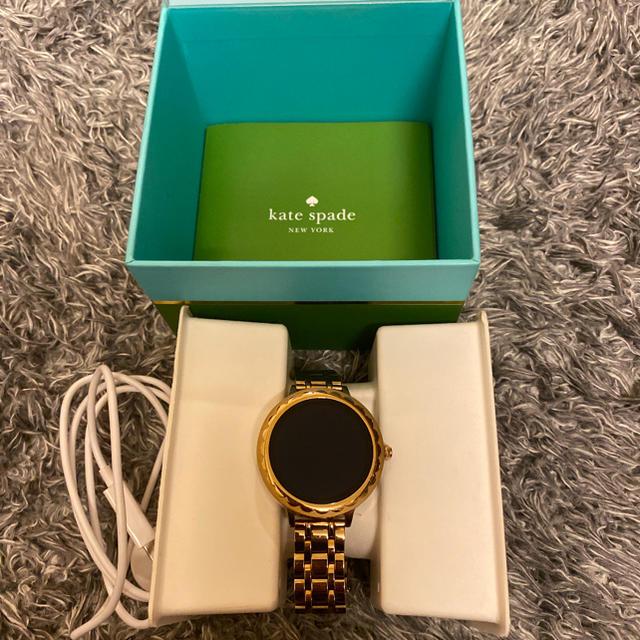 kate spade new york(ケイトスペードニューヨーク)のKate Spade スマートウォッチ定価50,760円 レディースのファッション小物(腕時計)の商品写真