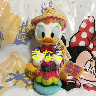 ドナルドダック(ドナルドダック)のディズニー ドナルド バースデー ぬいぐるみバッジ TDR 誕生日(キャラクターグッズ)