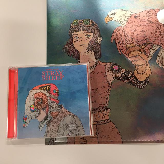 STRAY SHEEP 米津玄師 クリアファイル付 エンタメ/ホビーのCD(ポップス/ロック(邦楽))の商品写真