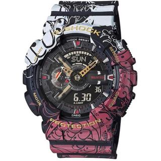 ジーショック(G-SHOCK)のG-SHOCK×ONE PIECEコラボ  GA-110JOP-1A4JR(腕時計(デジタル))