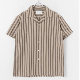 ドアーズ(DOORS / URBAN RESEARCH)のアーバンリサーチドアーズ イージーケアオープンカラーシャツ  ストライプ(シャツ)