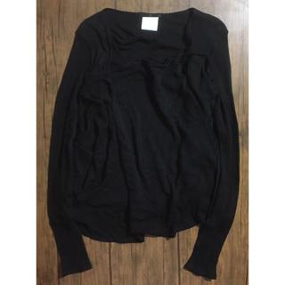ユリウス(JULIUS)の_7 ユリウス モード デザイン シルク混 長袖 カットソー トップス(Tシャツ/カットソー(七分/長袖))
