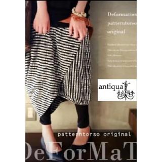 antiqua - アンティカ 立体2way変形スカート