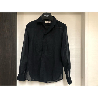 サンローラン(Saint Laurent)のサンローラン  プリーツシャツ(シャツ/ブラウス(長袖/七分))