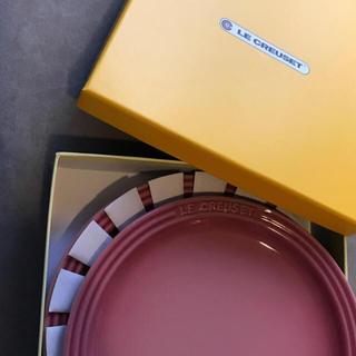 LE CREUSET - LE CREUSET 新品 ル・クルーゼ ラウンドプレート 19cm 2枚