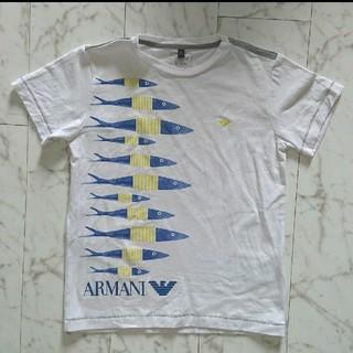 アルマーニ ジュニア(ARMANI JUNIOR)のARMANI JUNIOR Tシャツ(Tシャツ/カットソー)