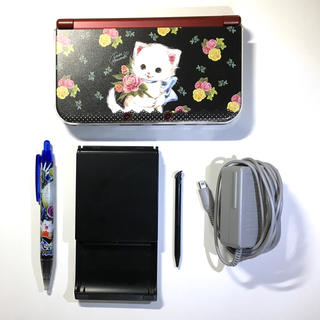 ニンテンドー3DS(ニンテンドー3DS)のニンテンドー3DS本体/ガールズモード3/どうぶつの森/トモダチコレクション(携帯用ゲーム機本体)