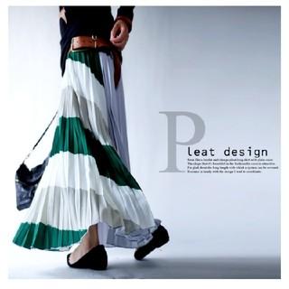 antiqua - アンティカ デザインプリーツスカート