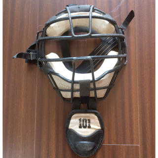 キャッチャー マスク:硬式野球用:NPB使用品:プロ野球:パリーグ:捕手:面