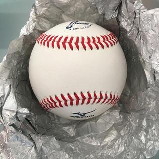 ミズノ(MIZUNO)の【新品】【未使用】NPB公式ボール:1球:硬式野球:硬式ボール:新球:プロ野球(ボール)
