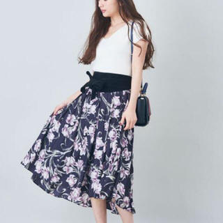 ココディール(COCO DEAL)のCOCO DEAL 花柄スカート(ロングスカート)