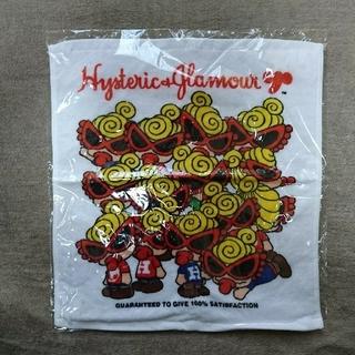 HYSTERIC MINI - ヒスミニ ハンドタオル【ステッカー付き】新品・未使用 ホワイト ミニちゃん