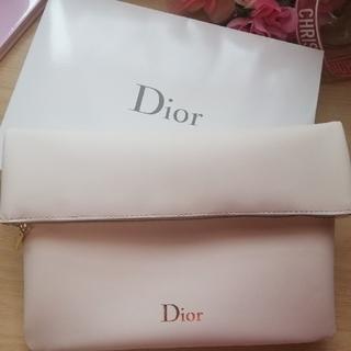 Dior - 【非売品】💖Dior💖 Wポケットポ―チ【新品】