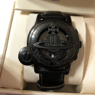 Vivienne Westwood - ヴィヴィアン 腕時計 ブラック 廃盤レア 電池切れです。 オーブ