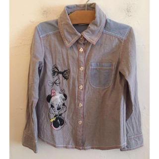 Disney - Disney ミニーマウス 長袖シャツ サイズ120