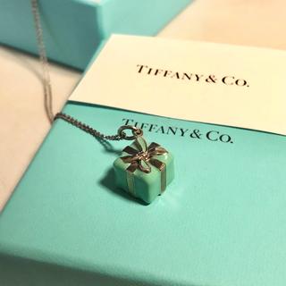 Tiffany & Co. - Tiffany&Co. ネックレス  ブルーボックス チャーム