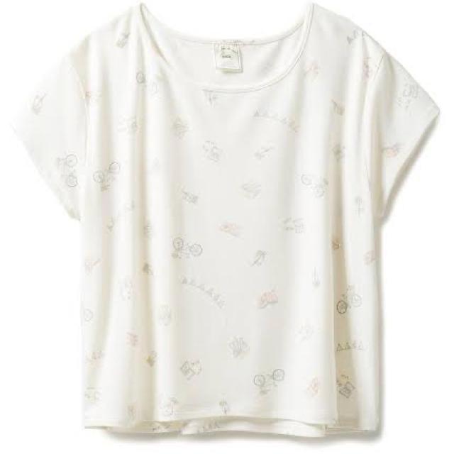 gelato pique(ジェラートピケ)のジェラートピケ  半袖Tシャツ レディースのルームウェア/パジャマ(ルームウェア)の商品写真