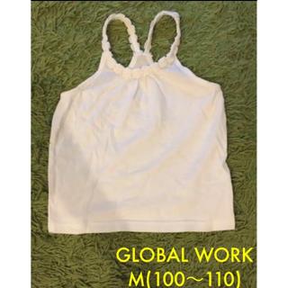 GLOBAL WORK - グローバルワーク キャミソール Mサイズ レーサーバック GLOBAL WORK