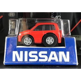 ニッサン(日産)のチョロQ 日産 ニッサン NISSAN CUBE キューブ 初代 赤 非売品(ミニカー)