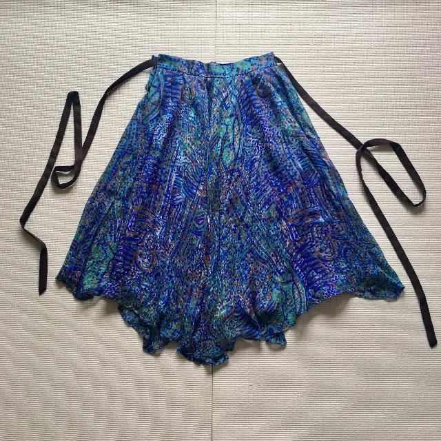 GRACE CONTINENTAL(グレースコンチネンタル)のgrace class/リメイク品/フレアスカート レディースのスカート(ひざ丈スカート)の商品写真