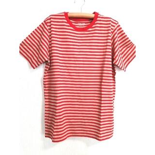 グローバルワーク(GLOBAL WORK)の新品 グローバルワーク ボーダー Tシャツ  コットン(Tシャツ(半袖/袖なし))