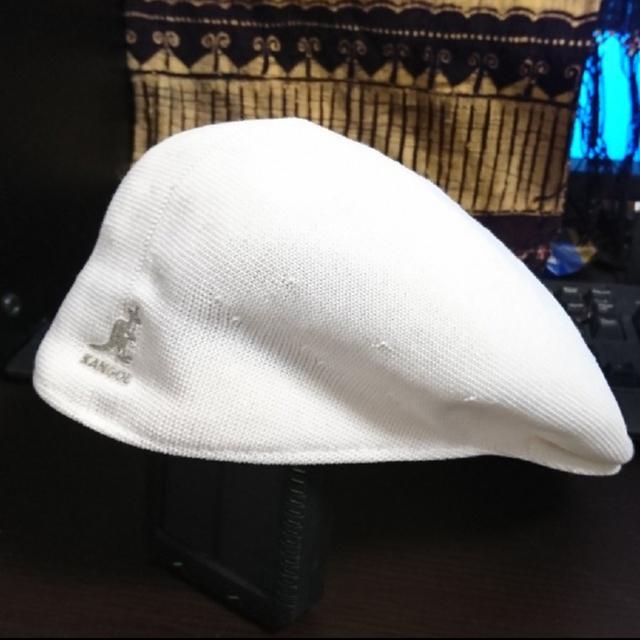 KANGOL(カンゴール)のKANGOL ハンチング tropic504 紺 白 セット メンズの帽子(ハンチング/ベレー帽)の商品写真