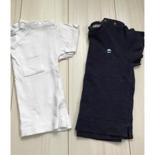 マーキーズ(MARKEY'S)のシンプルTシャツ 2枚セット 80(Tシャツ)