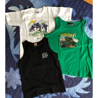 クイックシルバー(QUIKSILVER)のタンクトップ140cm &TシャツSサイズ セット(Tシャツ/カットソー)