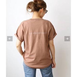 DEUXIEME CLASSE - 【CALUX/キャラクス】 SAVE ROOM FOR DESSERT Tシャツ