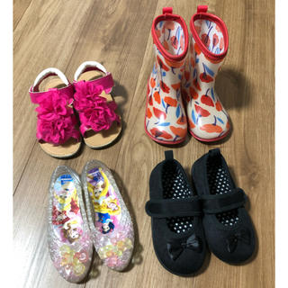 mou jon jon - 16cm 女の子 靴 まとめ売り