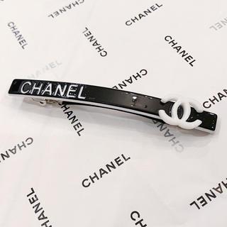 CHANEL - CHANEL シャネル バレッタ ブラック ヘアークリップ ヘアーアクセサリー