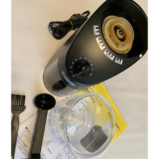 デロンギ(DeLonghi)のデロンギ(DeLonghi)コーヒーグラインダー(電動式コーヒーミル)