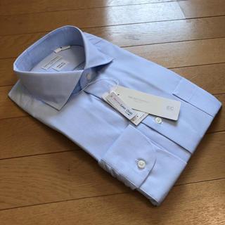 スーツカンパニー(THE SUIT COMPANY)のスーツカンパニー長袖ドレスシャツL41-88cm カッタウェイ絡み織イージーケア(シャツ)