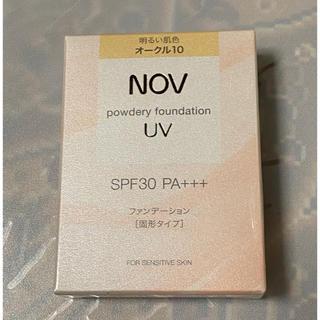 NOV - 新品・未使用・未開封 NOV   ノブ パウダリーファンデーション オークル10