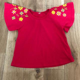 ニシマツヤ(西松屋)の90サイズ  袖フレア Tシャツ(Tシャツ/カットソー)