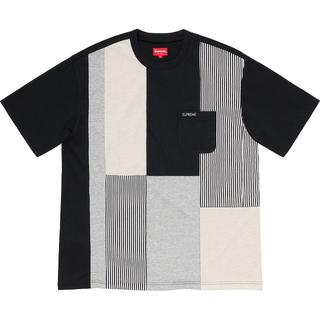 Supreme - Supreme patchwork pocket tee M ポケット Tシャツ