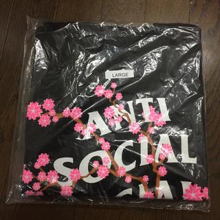 アンチ(ANTI)のAnti Social Social Club tee Lサイズ ブラック(Tシャツ/カットソー(半袖/袖なし))