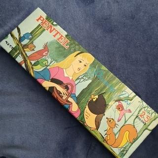 ディズニー(Disney)のレア!Pentel Disney Pas 25色 新品未使用 昭和レトロ(クレヨン/パステル)