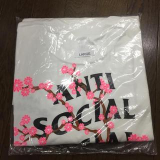 アンチ(ANTI)のAnti Social Social Club tee ホワイト Lサイズ(Tシャツ/カットソー(半袖/袖なし))