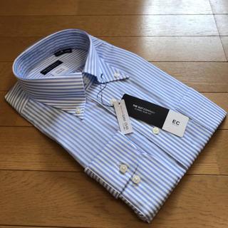スーツカンパニー(THE SUIT COMPANY)のスーツカンパニー長袖ドレスシャツL41-88cm BD 絡み織 イージーケア(シャツ)