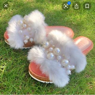 ファーファー(fur fur)のNANA0925様専用(サンダル)
