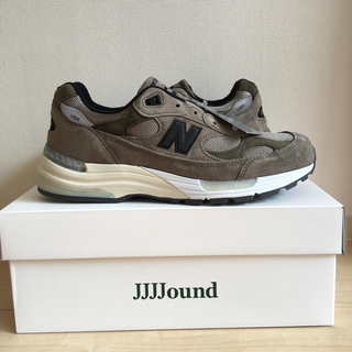 New Balance - JJJJOUND × NEW BALANCE 992 グレー